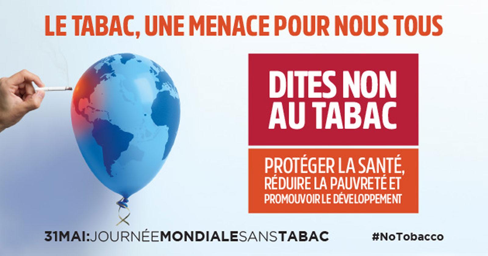 [31/05/17] Journée mondiale sans tabac : le CHPO se mobilise