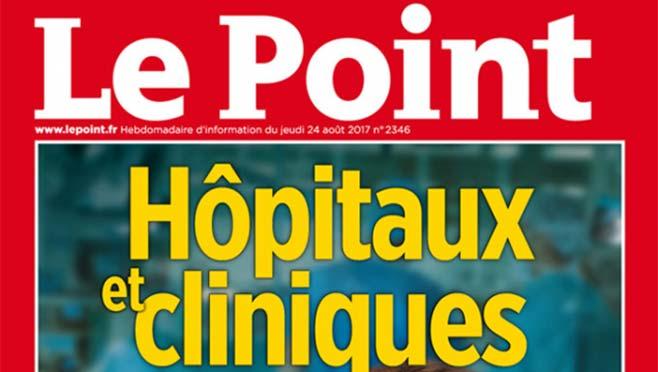 Le CHPO intègre le palmarès 2017 «Hôpitaux» du magazine Le Point