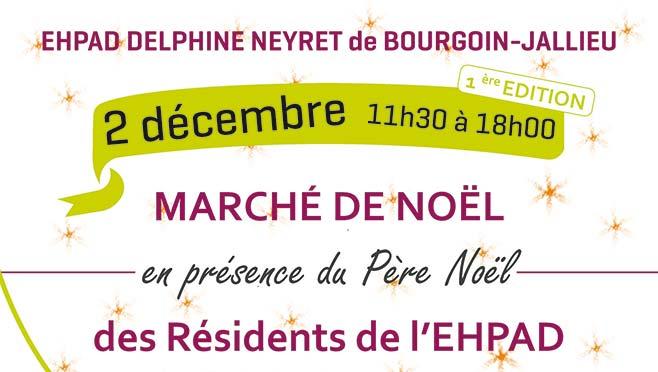 [02/12/17] L'EHPAD Delphine Neyret organise son marché de Noël