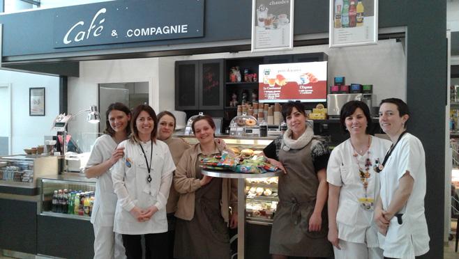 Don de Café et Compagnie à la Pédiatrie