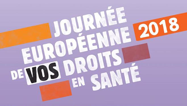 [26/04/18] Journée européenne des droits des patients