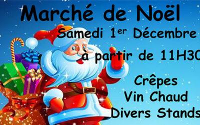 [01/12/18] L'EHPAD Delphine Neyret organise son marché de Noël