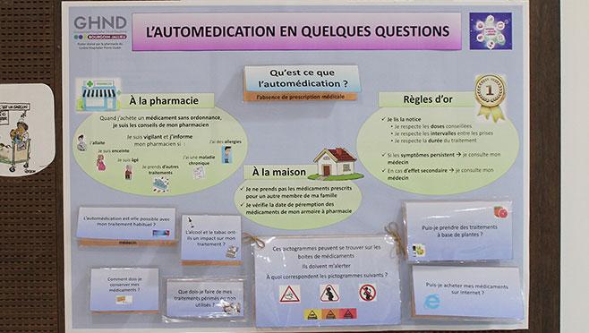 Semaine sécurité des patients : Le projet de la pharmacie du CHPO primé par l'ARS et l'OMEDIT !