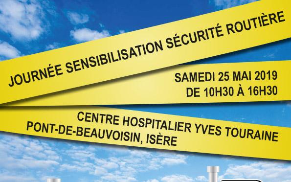 [25/05/19] Sécurité routière et santé : une journée de sensibilisation au CHPB