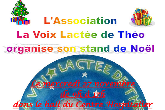 [27/11/19] Un marché de Noël au profit de l'hôpital de jour pour enfants de Bourgoin-Jallieu