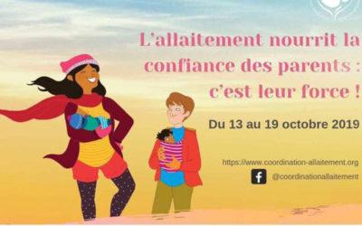 [13/10/19] Semaine mondiale de l'allaitement maternel au CHPO