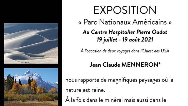 [19/07/21] Exposition «Les parcs nationaux américains» : Le CHPO en immersion dans la nature du Far West